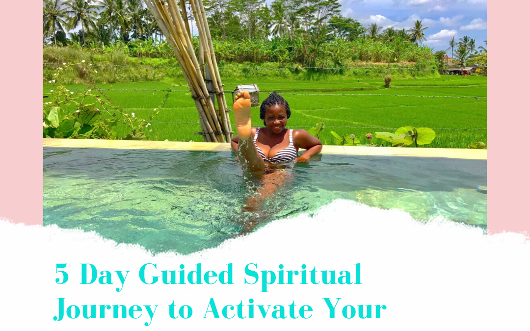 Free Experience – Activate your divine feminine blueprint through a 5 day guided spiritual journey.
